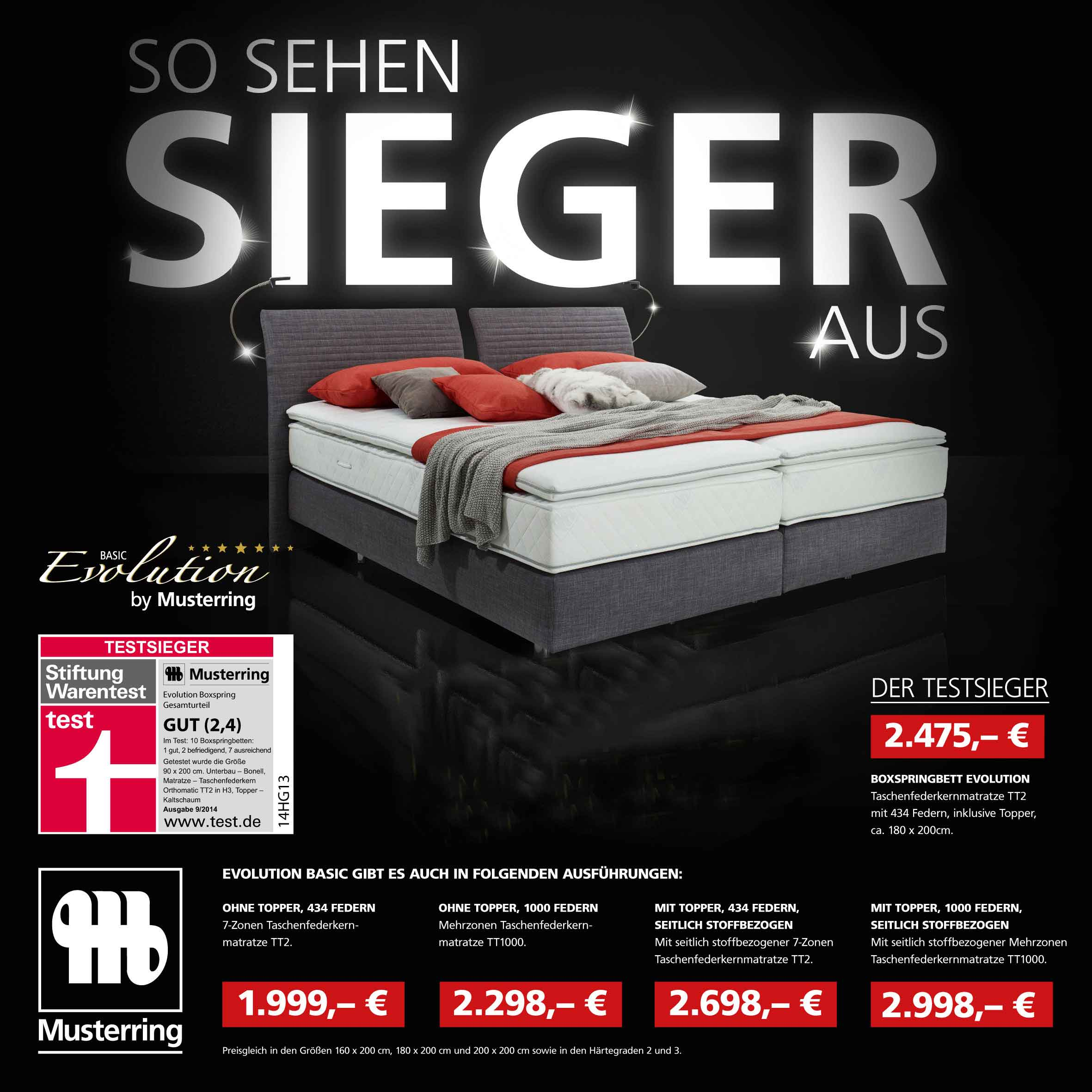 testsieger boxspringbett. Black Bedroom Furniture Sets. Home Design Ideas